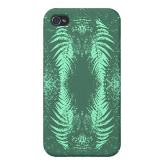 Fern Pern in Green. iPhone 4/4S Cases