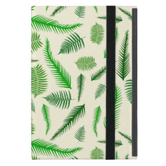 Fern Plant Frond Leaves Pattern iPad Mini Cover