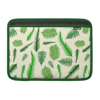 Fern Plant Frond Leaves Pattern Sleeves For MacBook Air