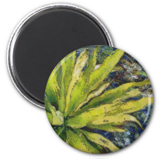 Fern plant looking beautiful 2 inch round magnet
