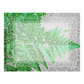 fern sideways sketch plant letterhead