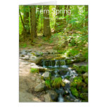 Fern Spring July Yosemite California Products Cards