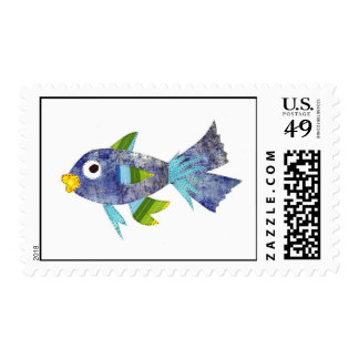 Fern the Fish Stamps