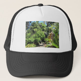Fern Tree Pathway Trucker Hat