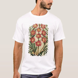 Fern with red and yellow flowers T-Shirt