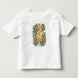 Fern with yellow flowers t shirt