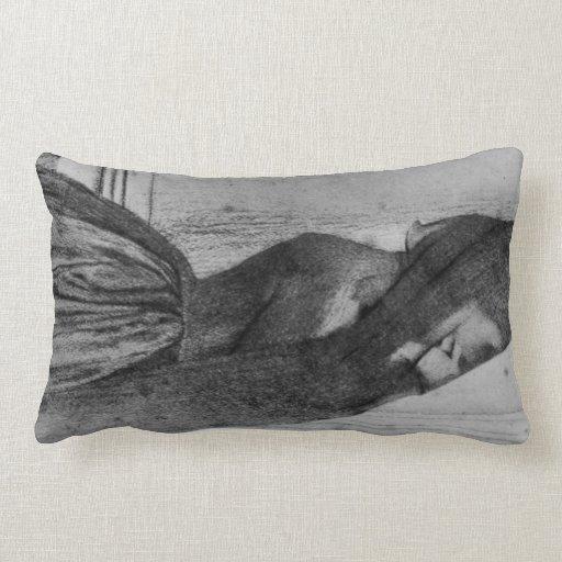 Fernand Khnopff - el velo Almohada