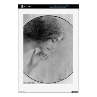 Fernand Khnopff - Melisande Decal For The PS3