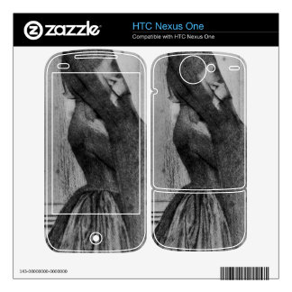 Fernand Khnopff - The veil HTC Nexus One Decal