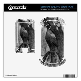 Fernand Khnopff - The veil Samsung Gravity 3 Decals
