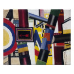 FERNAND LEGER-THE RAILWAY CROSSING-LARGE POSTER