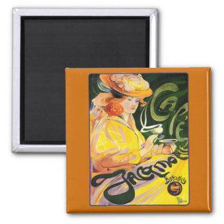 Fernand Toussaint ~ Cafe Jacqmotte Magnets