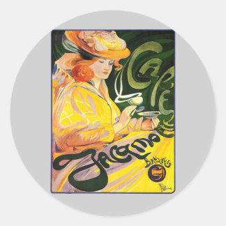 Fernand Toussaint ~ Cafe Jacqmotte Sticker