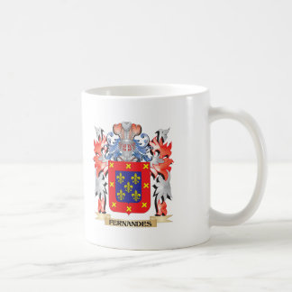 Fernandes Coat of Arms - Family Crest Coffee Mug