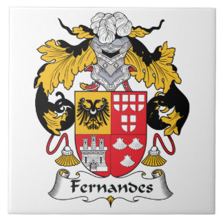 Fernandes Family Crest Ceramic Tile