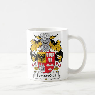 Fernandes Family Crest Coffee Mug