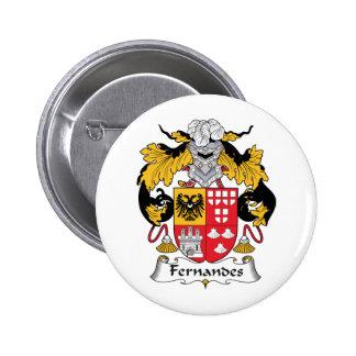 Fernandes Family Crest Pinback Button