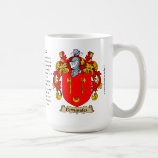 Fernandes, the Origin, the Meaning and the Crest Coffee Mug