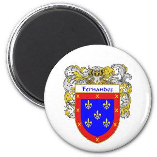 Fernandez Coat of Arms (Mantled) Magnet