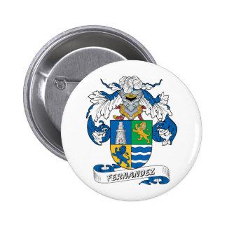 Fernandez Family Crest Button