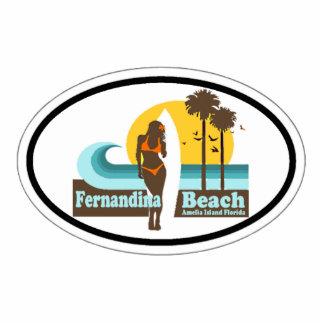Fernandina Beach. Cutout