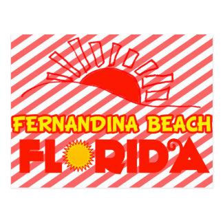 Fernandina Beach, Florida Postcard
