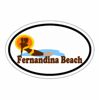 Fernandina Beach. Statuette