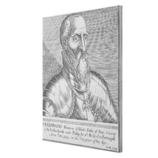 Fernando Alvarez de Toledo, 3rd Duke of Alba 2 Stretched Canvas Print