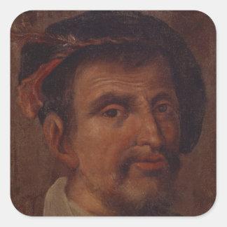 Fernando Columbus Pegatina Cuadrada