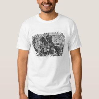 Fernando de Magallanes a bordo su caravel, 1522 Camisas