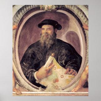 Fernando de Magallanes Poster