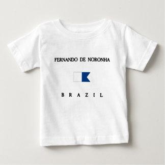 Fernando De Noronha Brazil Alpha Dive Flag T-shirts