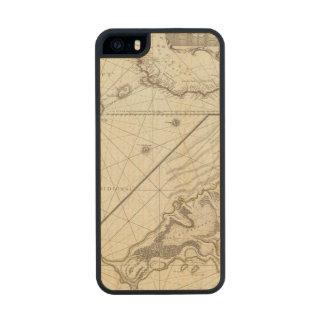 Fernando de Noronha Island Funda De Arce Carved® Para iPhone 5