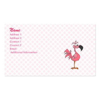Fernando Flamingo Business Card Templates