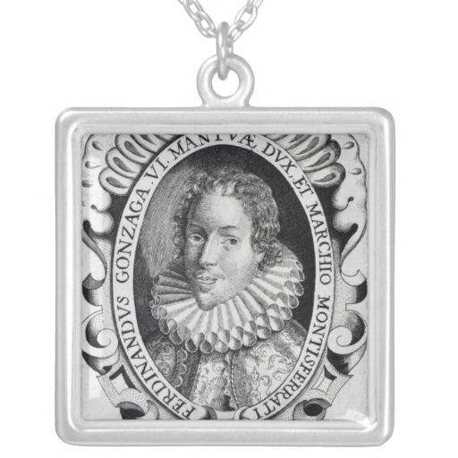 Fernando Gonzaga, duque de Mantua Colgante Cuadrado