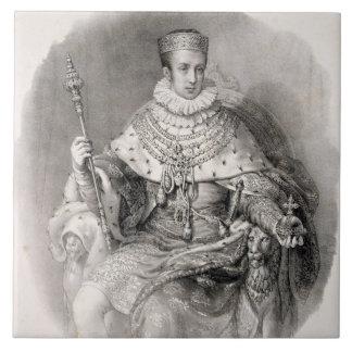 Fernando I (1793-1875), rey de Lombardía-Venetia, Teja