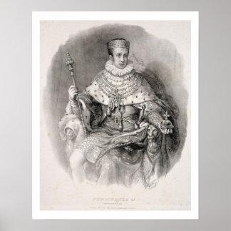 Fernando I (1793-1875), rey de Lombardía-Venetia, Posters