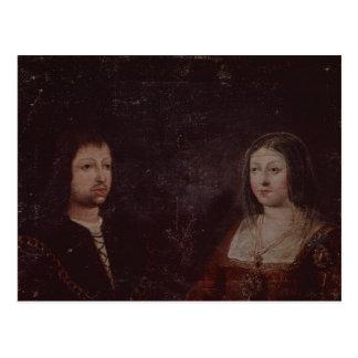Fernando II de Aragón y de Isabel I del Castile Postal