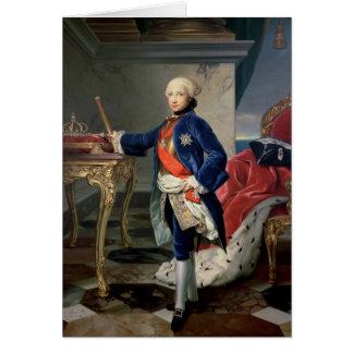 Fernando IV, rey de Nápoles Tarjeta De Felicitación