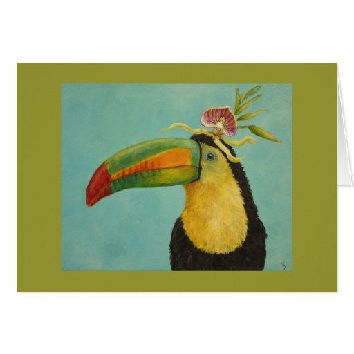 Fernando la tarjeta de felicitación toucan