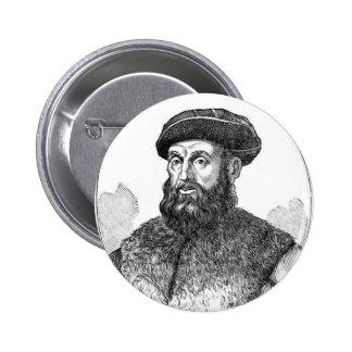 Fernando Magellan, Explorer 2 Inch Round Button
