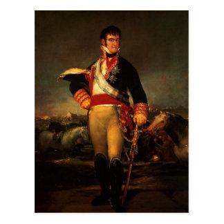 Fernando VII de España, por Francisco de Goya, 181 Tarjetas Postales