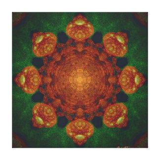 Fernangle's Toadstool Mandala Canvas (signed)