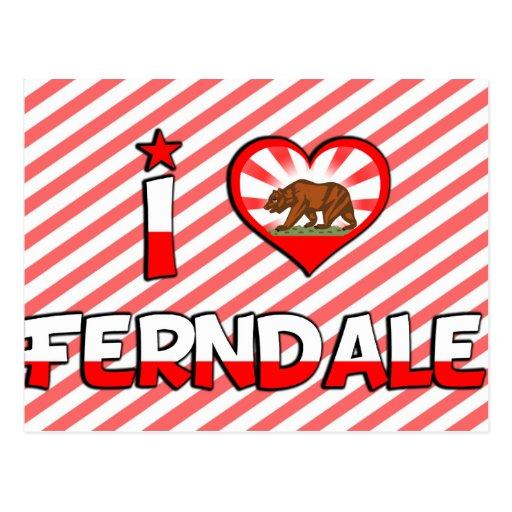Ferndale, CA Postales
