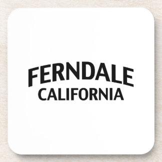 Ferndale California Drink Coaster