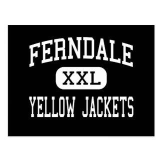 Ferndale - chaquetas amarillas - área - Johnstown Tarjetas Postales