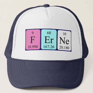 Ferne periodic table name hat