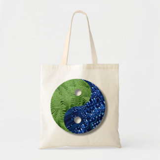 ferns and computer chip bag