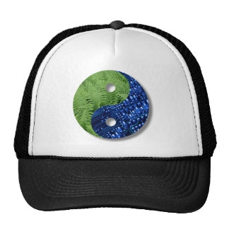 ferns and computer chip trucker hats