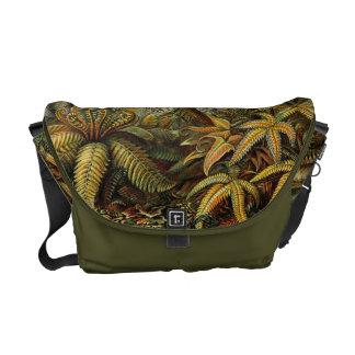 Ferns Botanical Print Messenger Bag